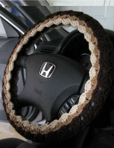 Victoria's Crafts by ytang Home Crafts, Diy Crafts, Car Steering Wheel Cover, Craftsman Style Homes, Crafts To Make And Sell, Vroom Vroom, Seat Covers, Crochet Crafts, Diy Craft Projects