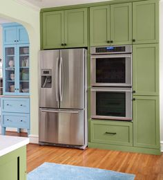 Kitchen Before and After: See This Welcoming Tudor Revival Kitchen - This Old House