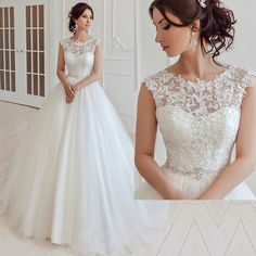 Cheap Plus Size Wedding Dress Lace Open Back Ivory China Cap Sleeve Ball Gown Bridal Dresses Sash Tulle Floor Length Z484