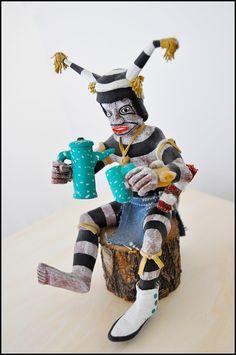 Hopi Clown Kachina ~ wilfordstradingpost.com