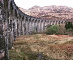 Glenfinnan Viaduct in Highlands