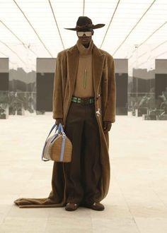 Louis Vuitton Fall-Winter 2021 Collection Fashion Week Hommes, Mens Fashion Week, Fashion News, High Fashion, Fashion Show, Male Fashion, Runway Fashion, Fashion Trends, Logo Louis Vuitton