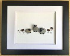 Pebble art nursery decor baby's room baby shower gift