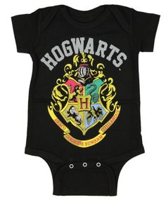 This onesie that lets your baby rep their future school. | 27 Adorable Harry Potter Things Your Baby Needs