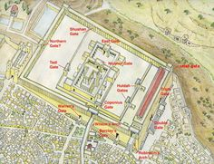 The Temple Mount gates | Ritmeyer Archaeological Design