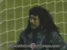 Goalkeeper Higuita does an amazing SAVE!!!!