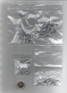 Bag 35 assorted silvery glitzy fabric embellishments for card making/quilting Glitter Ribbon, Glitter Cards, Ribbon Bows, Christmas Cards To Make, Red Christmas, Fabric Embellishment, Embellishments, Quilt Making, Card Making