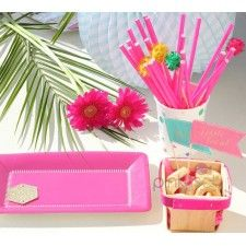 """Pappbecher /""""Party-Flamingo/"""" 6er Pack"""