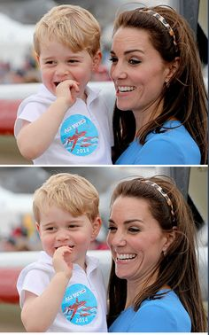 July 8, 2016: The Duke and Duchess of Cambridge, along with 2-year old Prince George, attended the Royal International Air Tattoo air show at RAF Fairford, the largest event of its kind in the world.