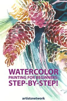 Watercolor painting for beginners is easy and fun with these tips from artist Jan Fabian Wallake. Learn how to paint landscapes, flowers, and more. Watercolor Tips, Watercolor Painting Techniques, Watercolour Tutorials, Watercolor Artists, Painting Lessons, Watercolor Landscape, Painting & Drawing, Watercolor Flowers, Watercolour Paintings