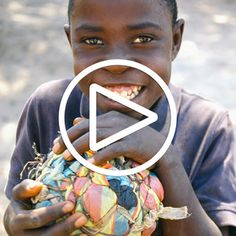 Meet Gift. He is one of the millions of African's that your drink can save.