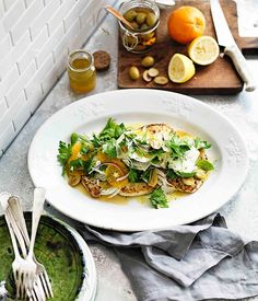 Australian Gourmet Traveller recipe for insalata di pesce spada.