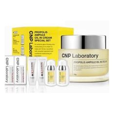 Amazing offer on CNP Laboratory Propolis Ampule Oil In Cream Special Set / online - Zayapclothing Tattoo Practice Skin, Pure Argan Oil, Emu Oil, Antioxidant Serum, Nail Cuticle, Anti Aging Treatments, Cocoa Butter, Personal Care, Colors