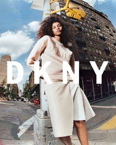 Имаан Хаммам в рекламной кампании DKNY (Интернет-журнал ETODAY)