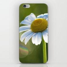 Phone Skins Originalaufnahme (originalaufnahme) Daisy after rain at backlight by Originalaufnahme $15.00