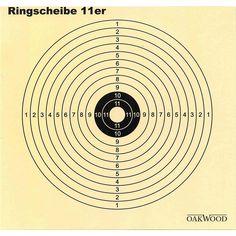 50 Oakwood Zielscheiben aus Pappe, 14 cm x 14 cm                                                                                                                                                                                 Mehr