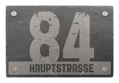House Number of Slate with Text 30 x 20 Design Classic for sale online Glass Bell Jar, The Bell Jar, Slate Signs, Crushed Glass, Vase Fillers, Photography Gifts, Stack Of Books, House Numbers, Home Signs