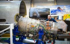 The Bloodhound Super Sonic Car has just had a key engine fitting.  Its Rolls-Royce EJ200 turbofan has been slotted into the vehicle's upper-chassis for the first time.