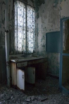 Medical Sink; Pennhurst State School