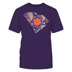 Clemson Tigers Official Apparel - this licensed gear is the perfect clothing for fans. Makes a fun gift!