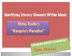 Identifying Literary Elements Using Rap Music: Auditory Learners! - Pinned by @PediaStaff – Please visit http://ht.ly/63sNt for all (hundreds of) our pediatric therapy pins