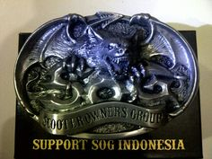 Another buckle SOG Indonesia