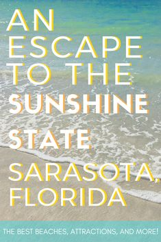 Be prepared to explore Sarasota Florida. One of the hidden gems in the Sunshine State! Florida Camping, Florida Vacation, Florida Travel, Travel Usa, Rv Camping, Beach Travel, Vacation Spots, California Camping, Travel Pics