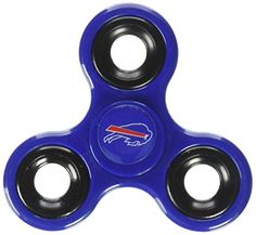 NFL Buffalo Bills Three Way Diztracto Spinnerz  https://allstarsportsfan.com/product/nfl-buffalo-bills-three-way-diztracto-spinnerz/  NFL Three Way Distractor Spinners 3-sided Spinner designed for maximum spin time Decorated with team colored logo