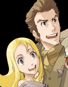 Isaac & Miria my 2 favorite characters off of baccano XD there so awesome