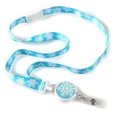 Snow-Bound Ribbon Lanyard