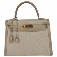 bf227a23e102 Hermes Kelly cloth handbag  Hermeshandbags Bag Closet