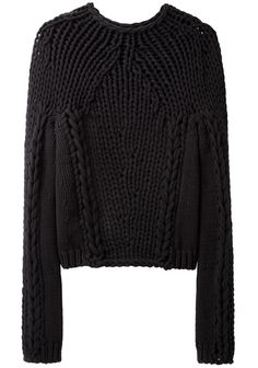 Alexander Wang Black Jumper. PHO. LONDON