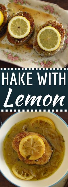 Want to prepare a simple fish meal, very tasty and with excellent presentation? This hake recipe aromatized with the delicious lemon flavor is light and perfect for a summer lunch with your family! Hake Recipes, Lemon Recipes, Fish Recipes, Tasty, Yummy Food, Latest Recipe, Portugal, Quick Easy Meals, Fish Meal