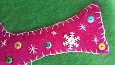 Sewing with felt for Christmas