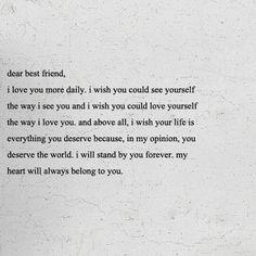 best friend :)