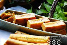 오븐에 구운 [단호박 찹쌀떡]~냉동실 정리로 굿 정월 대보름이자 발렌타인데이가 겹친 오늘이죠. 또 한가지... Sweet Potato, Potatoes, Baking, Vegetables, Food, Food Food, Potato, Bakken, Essen
