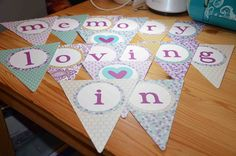 In Loving Memory banner available from AJ's Craft Creations. https://www.facebook.com/ajs.craft.creations