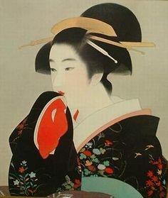 Ito Shinsui: Yuki moyohi — 雪もよひ