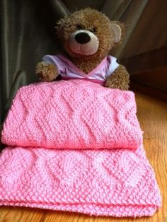 Forever Diamonds Baby Blanket Pattern by Natalia Blank