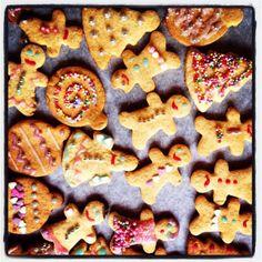 Kucina di Kiara: Gingerbread, ovvero i biscotti di pan di zenzero