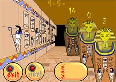 Number Bonds to 20 < Maths Zone - Free Cool Learning Games for School Ict Games, Fun Math Games, Math Activities, Learning Activities, Multiplication Facts, Math Facts, Number Bonds To 20, Ancient Egypt Activities, Mastering Math
