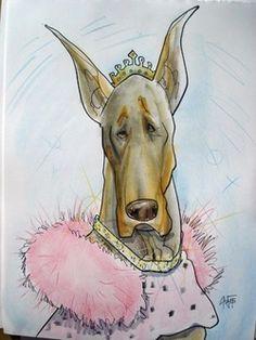 Doberman Princess