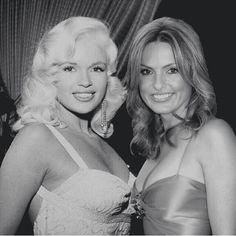Mariska and her mother, Jayne Mansfield