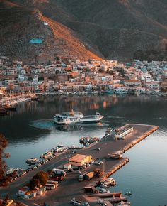 Sunrise Kalymnos island On the top is a small church available only by foot. Anyone who reached there can ring the bell as a sign of achievement. I have been there thanks to a local man who just went together after asked about the way there. Sailing Cruises, Sailing Holidays, Italy Holidays, Greece Islands, Balearic Islands, Boat Rental, Sardinia, Vacation Destinations, Luxury Travel