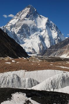 K2 is the second-highest mountain on Earth after Mount Everest
