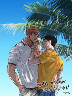 Fanart: SUKYOUNG Walk On Water, Walking, Fan Art, Entertaining, Anime, Movies, Movie Posters, Fictional Characters, Water