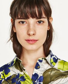 Image 2 of PRINTED FLORAL SHIRT from Zara