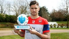 Congratulations Giroud on winning player of the month