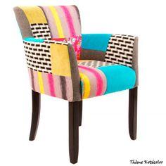 Osez la couleur dans vos salons avec la collection Kotécolor de chez Kotécaz.... Decoration, Armchair, Modern, Furniture, Home Decor, Collection, Scrappy Quilts, Chairs, House Decorations
