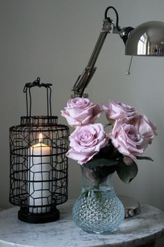 Dusty rose and grey ~